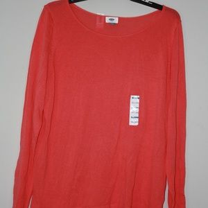 Old Navy Coral Sweater